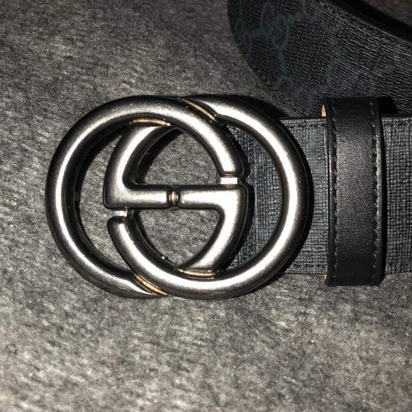 84ad466a185 Gucci Accessories - Unisex Gucci GG Supreme Canvas Belt 295777 KGDHR